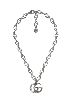 Gucci Double G necklace - Metallic