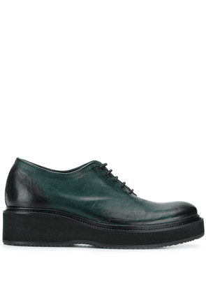Cotélac lace-up Oxford shoes - Green