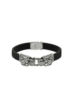 Gucci tiger head bracelet - Black