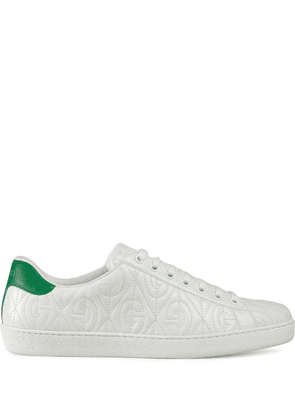 Gucci Ace G rhombus sneakers - White