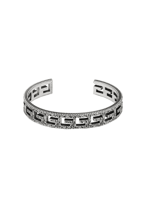 Gucci Cuff bracelet with Square G motif - SILVER