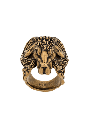 Gucci Antico engraved ring - Gold