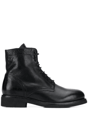 Buttero lace-up ankle boots - Black