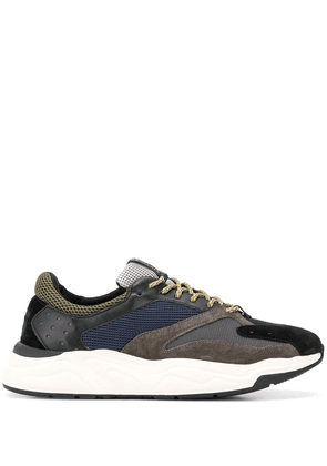 Brimarts panelled colour block sneakers - Grey