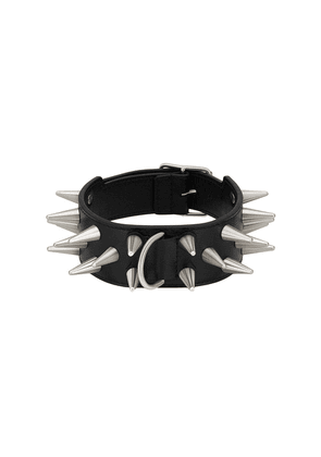 Gucci spiked studded choker - Black