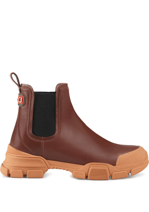 Gucci chunky sole Chelsea boots - Brown