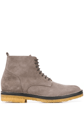 Buttero lace-up ankle boots - Grey