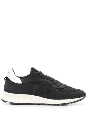 Philippe Model contrast sole sneakers - Black