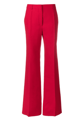 Valentino high-waisted trousers - Red