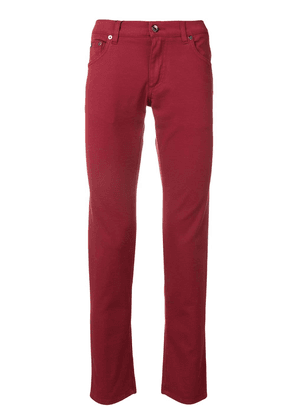 Dolce & Gabbana slim-fit jeans - Red