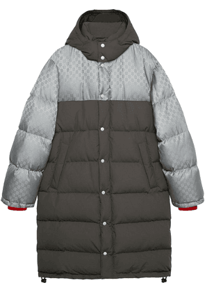 Gucci GG jacquard nylon jacket - Grey