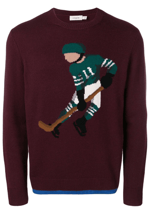 Coach ice hockey player jumper - Red