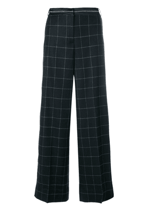Elizabeth and James woven grid palazzo pants - Blue