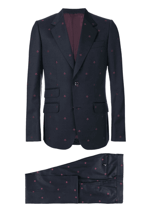 Gucci Heritage Bees two piece suit - Blue