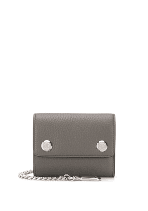 Mulberry chain-detail wallet - Green