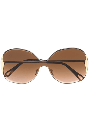 Chloé Eyewear Wendy sunglasses - GOLD