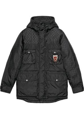 Gucci GG jacquard nylon jacket - Black