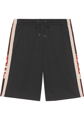 Gucci Technical jersey shorts - Black