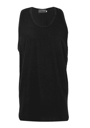 Yuiki Shimoji round neck tank top - Black