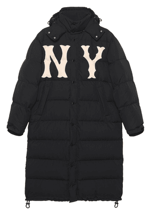 Gucci Nylon Coat with New York Yankees ™ patch - Black