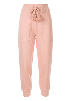 Ulla Johnson tapered trousers - PINK