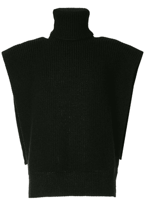 Raf Simons knitted vest - Black