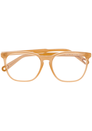 Chloé Eyewear CE2740 square-frame glasses - Neutrals