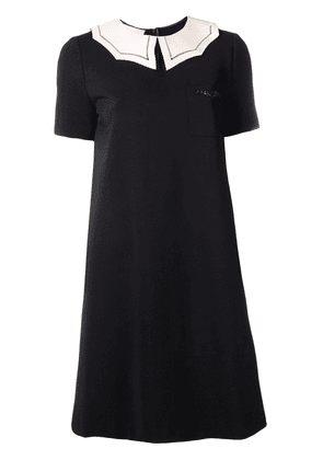 Gucci bat-embellished dress - Black