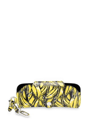 Prada banana print eyewear case - Yellow