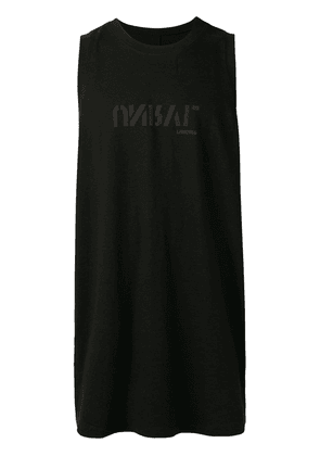 Unravel Project oversized tank top - Black