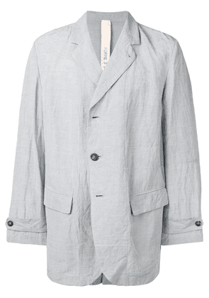 Forme D'expression classic oversized blazer - Grey