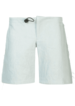Per Götesson drawstring denim shorts - Blue