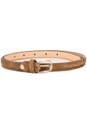 AGL d-ring buckle belt - Brown