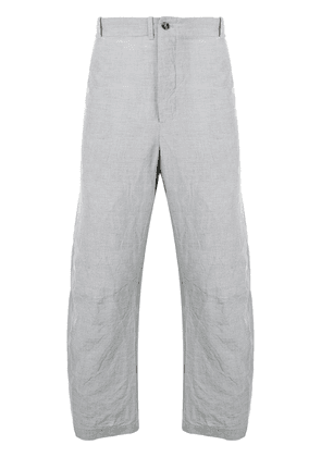 Forme D'expression relaxed-fit tailored trousers - Grey