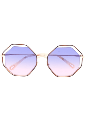 Chloé Eyewear Poppy sunglasses - GOLD