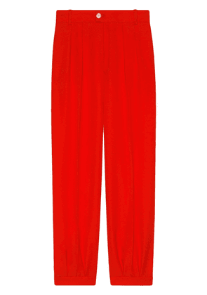 Gucci Wool ankle pant - Red