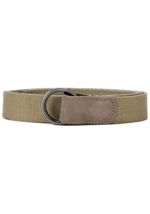 Anderson's panelled belt - NEUTRALS