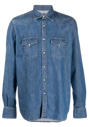 Eleventy denim shirt - Blue