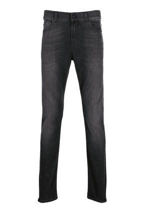7 For All Mankind Ronnie tapered jeans - Black