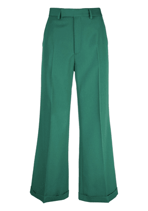Gucci Wool ankle pant - Green