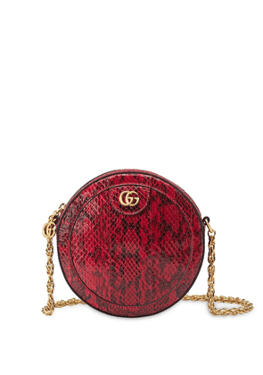 Gucci GG round cross-body bag - Red