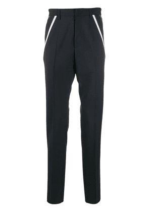 Valentino stripe detail tailored trousers - Blue
