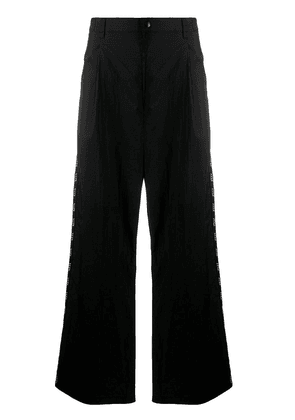 Valentino wide-leg trousers - Black