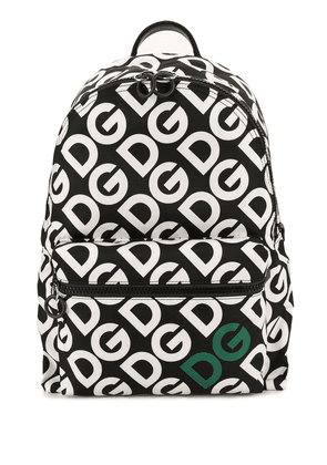 Dolce & Gabbana DG Mania print backpack - Black