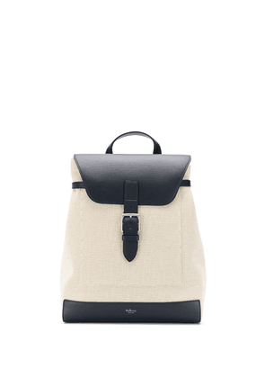 Mulberry Chiltern smooth canvas backpack - NEUTRALS