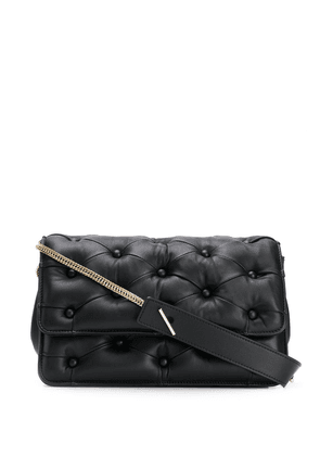Benedetta Bruzziches pintucked shoulder bag - Black