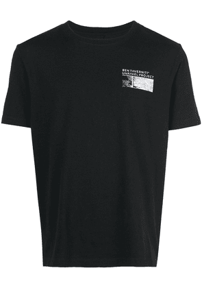 Unravel Project logo printed T-shirt - Black