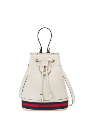 Gucci small Ophidia bucket bag - White