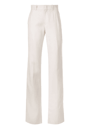 Gucci mid-rise flared trousers - White