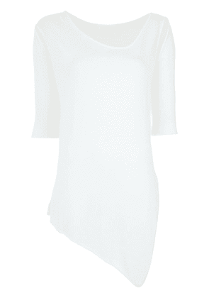 Gloria Coelho cut out knitted blouse - White